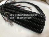 厂家直销电子手轮线TPU弹簧线/汽车线/弹弓线/螺旋电线