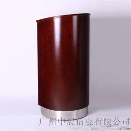 专业生产SITTY斯迪95.9012棕红色圆形演讲台