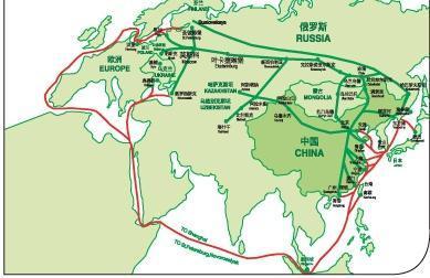 中亚五国/俄罗斯/蒙古国际铁路运输图片