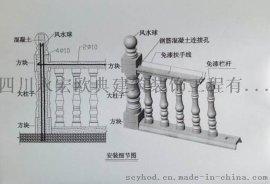 花瓶欄杆、寶瓶欄杆,批量生產供應,造型優美、量大從優