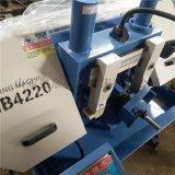 奥辰数控GB4220双立柱金属带锯床,可选配上夹紧