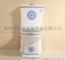 蒙諾雷斯青花瓷座便器K1012