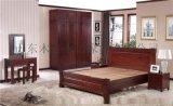 新中式665#-8实木床全实木儿童床1.8米双人床