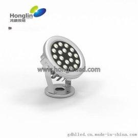 18W304不锈钢水底灯,