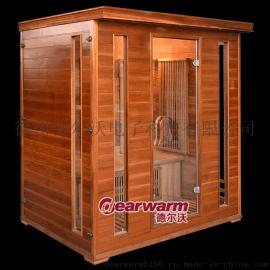 德尔沃DW-R4移动汗蒸房,家用远红外桑拿房汗蒸房
