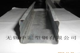 無錫生產塑鋼門窗襯鋼型材和建築裝潢龍骨型材