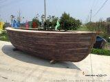 船型吧台 景观海盗船餐饮船 装饰木船厂家定做