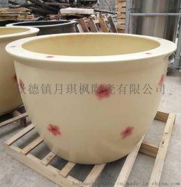 景德鎮定制陶瓷高溫泡澡缸極樂湯洗浴缸廠家