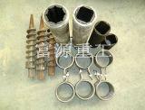 富源木炭机厂长期供应制棒机易损件,推进器成型筒加热圈等配件