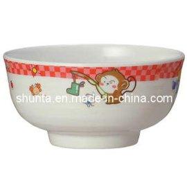 美耐皿儿童花纹碗(密胺/科学瓷/仿瓷碗)