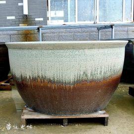 景德镇陶瓷锦鲤鱼缸 种花养鱼陶瓷缸 陶瓷风水缸厂家直销