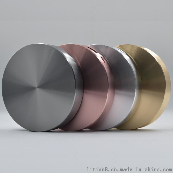 新款不锈钢圆形移动电源 聚合物6000毫安便携式充电宝