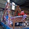 专业定制公园孩子们喜欢玩的游乐设备迷你新款海盗船