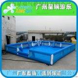 充气海洋球池围栏儿童室内广场游乐场大型加厚充气波波球彩色球池
