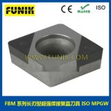 cbn焊接刀片 立方氮化硼超硬数控刀片 富耐克数控刀具FBM6100刀粒