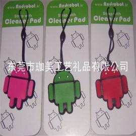 供應PVC軟膠手機擦  電壓手機擦  螢幕手機擦