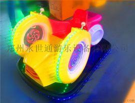 廣場太子摩託車玩具 公園新款室外遊樂設備電動車