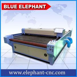 济南蓝象1326自动进料激光切割机,服装激光切割机,皮革激光切割机,布料激光切割机,广泛应用于纺织行业、服饰行业