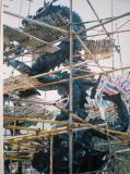上海雕塑游乐园景观动物龙玻璃钢雕塑定制