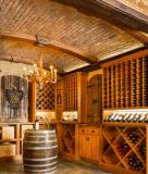 定制红酒架|红橡木酒架|实木酒架|鼎颂酒架定制