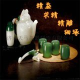 cnc小型玉石雕刻机 生产定制厂家 玉石茶壶雕刻