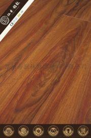 高密度倒角耐磨复合强化地板木供应厂家