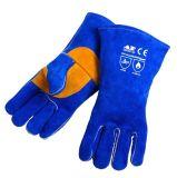 AP-1201友盟封面款彩蓝色护掌电焊手套