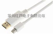 高品質 DP to MINI DP 連接線