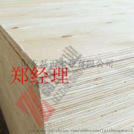 包裝箱板免薰蒸多層板一次成型不開膠山東磊正木業