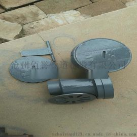 钢制地漏,铸铁直通式无水封地漏04S301标准