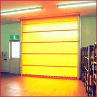 焊接防护高速卷门.高速卷帘门