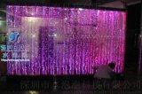 厂家定制气泡墙,水幕墙,水舞屏风,玻璃流水墙,亚克力流水屏风批发