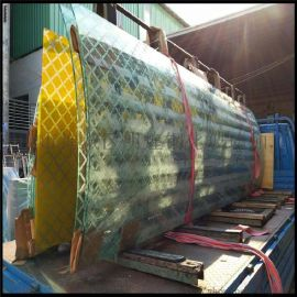 明煌鋼化玻璃廠 專業生產定制熱彎玻璃 弧形玻璃 熱彎加工玻璃