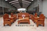 中式现代仿古红木沙发实木沙发花梨木沙发十件套组合