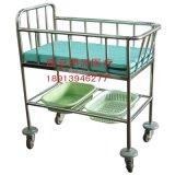 南京昂派UP-10048医用不锈钢婴儿车 婴儿床
