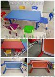 幼儿课桌椅,成都幼儿园六人桌,四川幼儿长方桌子