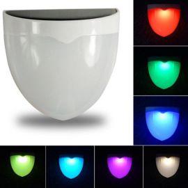 HC hc-4新款LED彩色太阳能灯  RGB光控花园灯