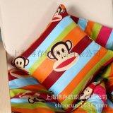 沙发抱枕套_产地货源棉麻抱枕靠垫 客厅沙发印花定制款