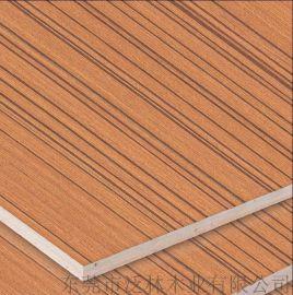 泛林 柚木木皮贴面 3-18厘多层UV板 办公家具装修 装饰板材