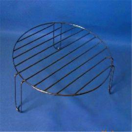 不锈钢烧烤网 烧烤夹 圆形烧烤网
