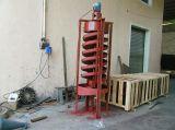 选金溜槽 实验小型玻璃钢溜槽 螺旋溜槽厂家
