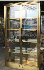 匯興誠hxc-jg專業制作酒店不鏽鋼酒櫃