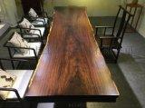 黑檀大板實木家具辦公家具茶桌會議桌原木大板