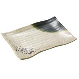 密胺食具 美耐皿食具 仿瓷日式壽司皿BA22