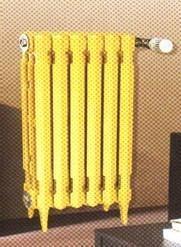 700型鑄鐵暖氣片內腔無沙
