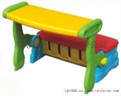 幼兒多功能學習儲物桌椅/畫畫餐桌椅