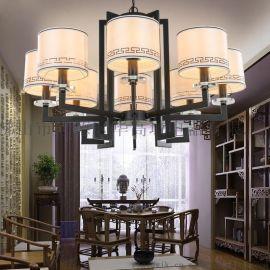 新中式吊燈華麗客廳燈具現代簡約臥室餐廳燈飾