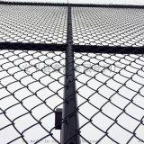 合肥生产定制学校操场围网运动场护栏网勾花护栏网