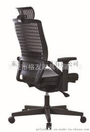 带写字板网布中背椅,带板会议椅,新闻椅