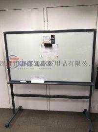 广州白板支架式p鼎湖立式黑板支架式p可移动玻璃白板